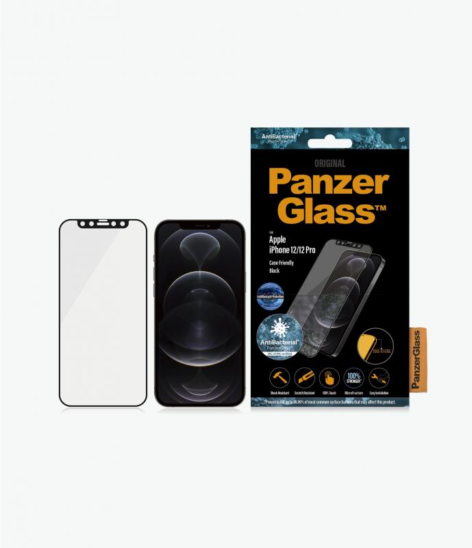 PanzerGlass™ iPhone 12 Mini/12/12 Pro/12 Pro Max Black - Anti-Bluelight