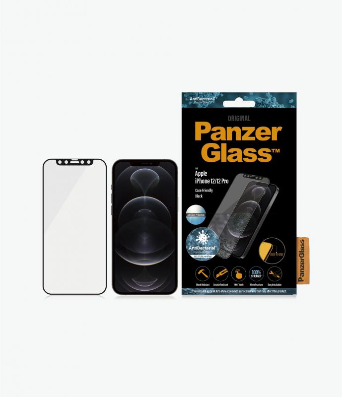 PanzerGlass™ iPhone 12 Mini/12/12 Pro/12 Pro Max Black - Anti-glare