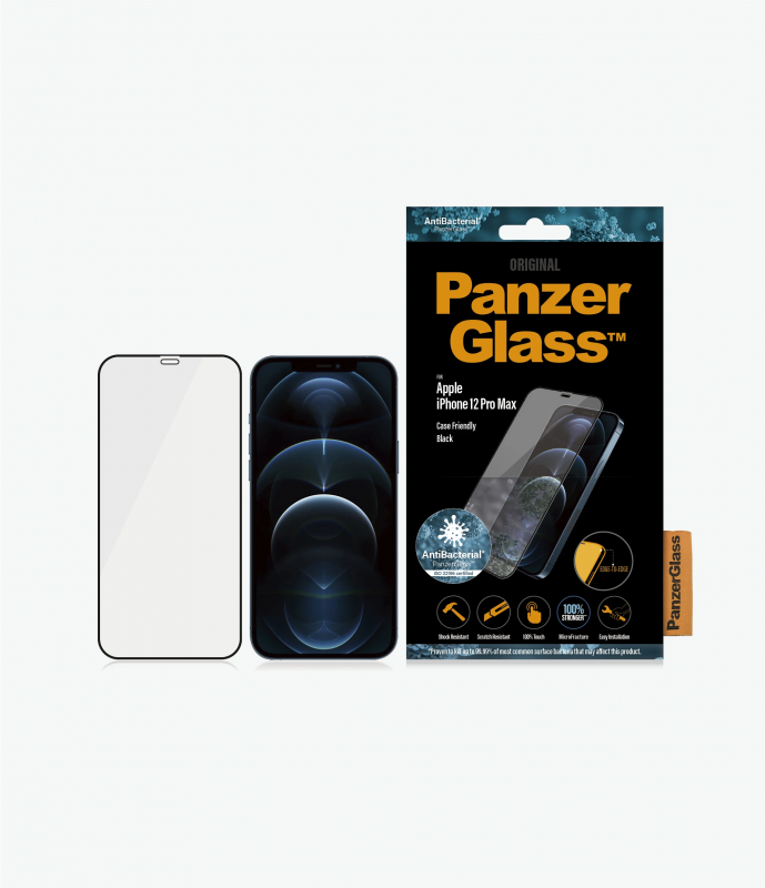 PanzerGlass™ iPhone 12 Mini /12/12 Pro/12 Pro Max Black