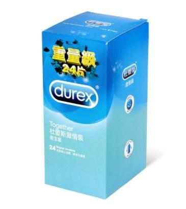 杜蕾斯 激情裝 24 片裝 乳膠安全套