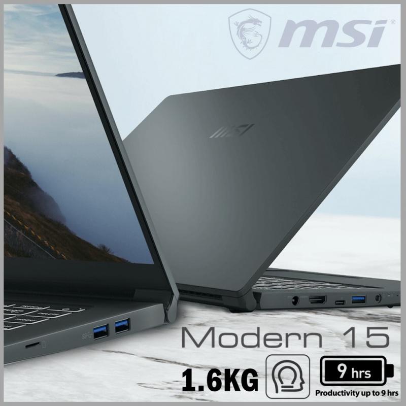 "MSI Modern 15 A10RBS 15.6""專業創作者筆記型電腦( i7-10710U / MX350 )"