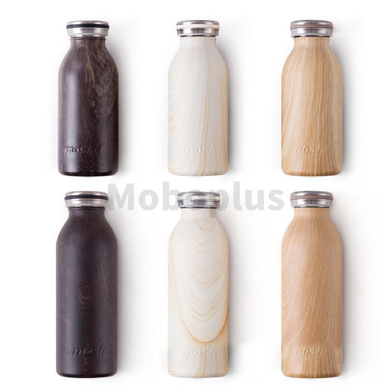 日本Mosh! 木紋系保冷保溫杯 [2容量/3顏色]