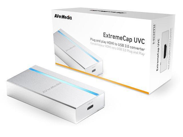 ExtremeCap UVC HDMI to USB3.0 Type-C 免驅動擷取器 BU110