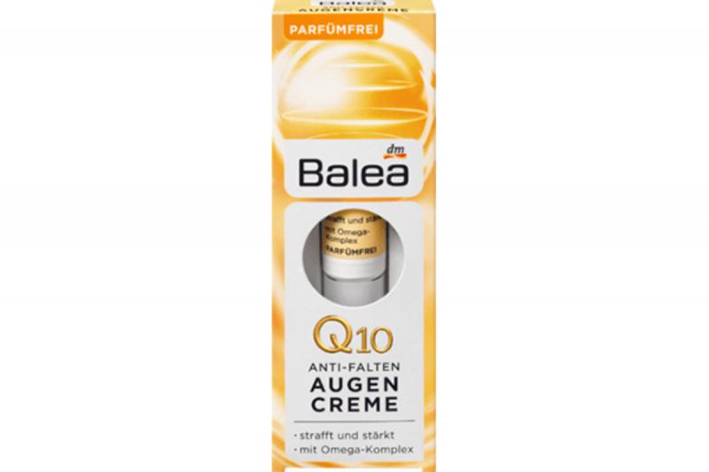 德國 Balea 芭樂雅 Q10 Omega 眼部抗皺霜 15ml【市集世界 - 德國市集】