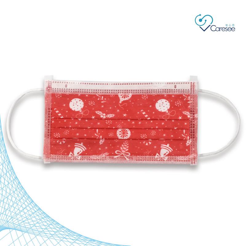 便利妥 Banitore 2D 紅色聖誕 成人護理口罩 (中碼)(10片)聖誕節限定款1