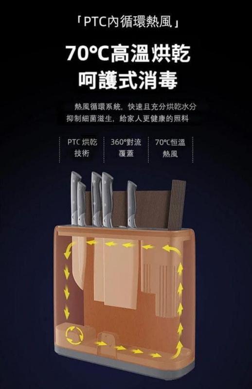 德國Blaupunkt智能刀筷砧板消毒烘乾機[2色]