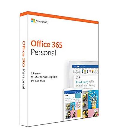 Microsoft Office 365 個人版 US Version (12 months)
