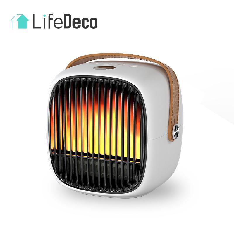 日本LifeDeco MyHeater H2 PTC智能音樂冷暖風機 [2色]