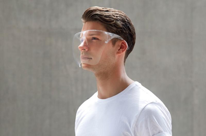 Blocc Face Shield 頭戴式透明防護面具