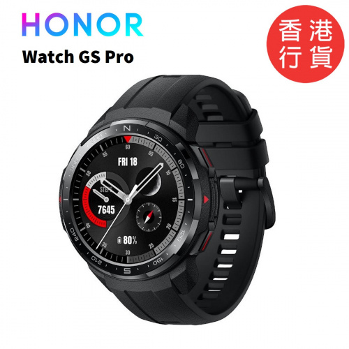Huawei Honor Watch GS Pro 智能手錶 [Charcoal Black]