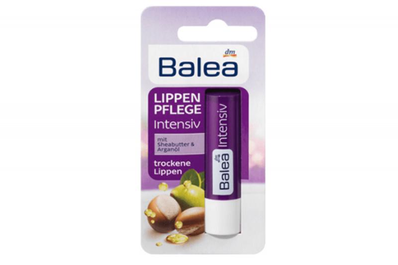 德國 Balea 芭樂雅 堅果油無色潤唇膏 4.8g【市集世界 - 德國市集】