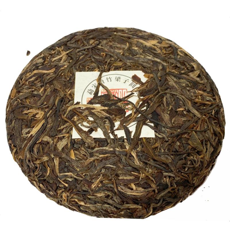 勐宋滑竹梁子 百年古樹 普洱生茶餅 200g小餅【市集世界 – 市集茶莊】