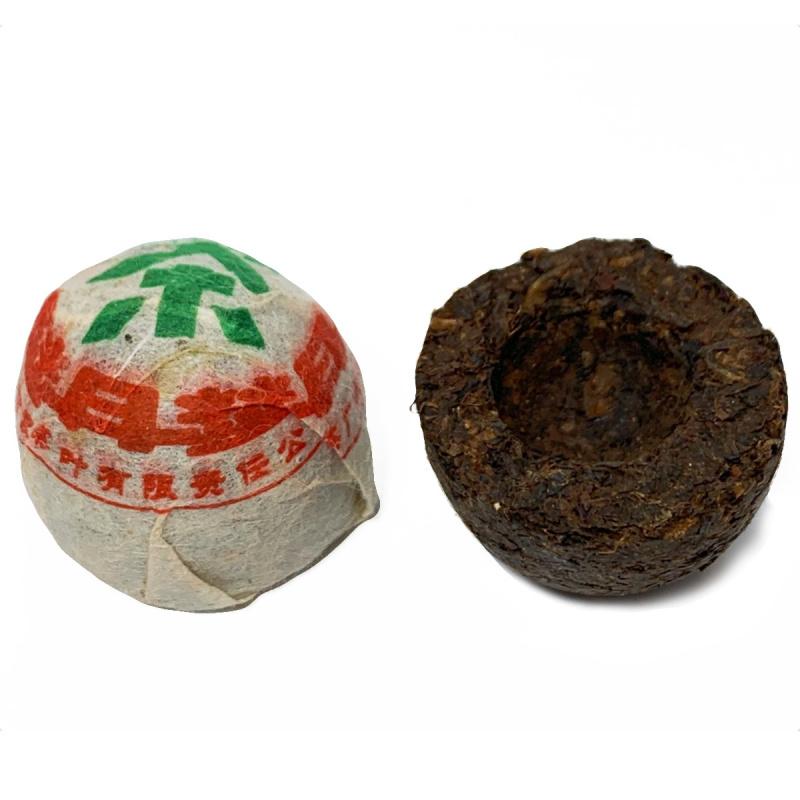 2006年 高級迷你 300年古樹 普洱熟沱茶 10粒裝【市集世界 – 市集茶莊】