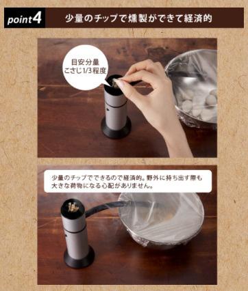 日本 Green House Food Smoker 無線迷你煙燻機