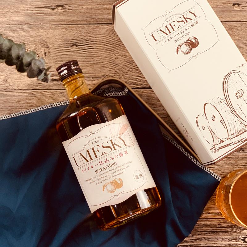 日本若鶴 UMESKY 威士忌梅酒 720ml [禮盒裝]