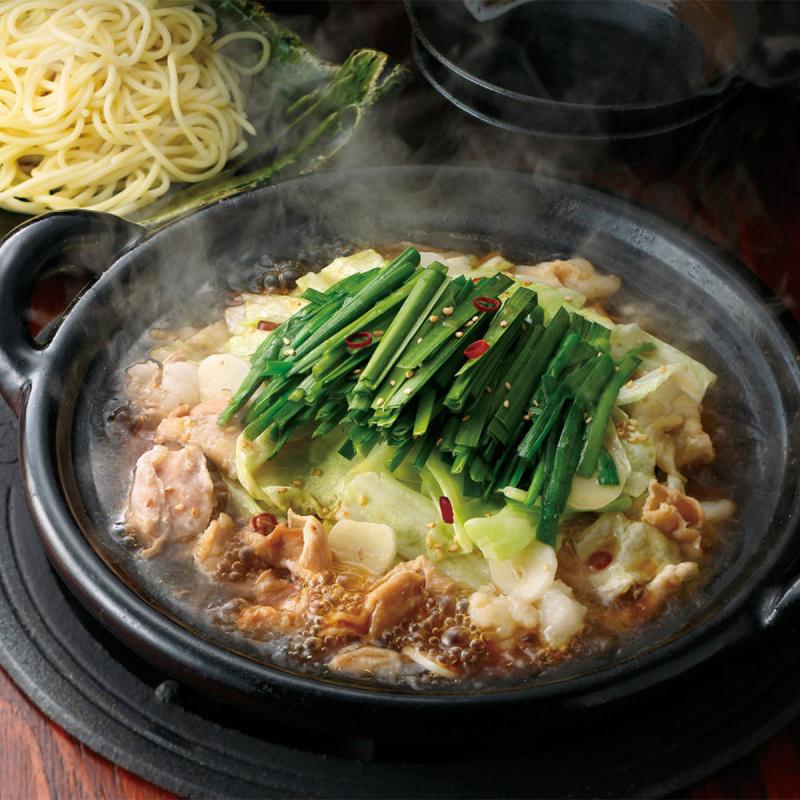 日本 博多華味鳥 牛雜火鍋 醬油大蒜 湯底包 400g【市集世界 - 日本市集】