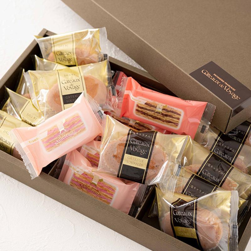 日本 航海の門 15件裝 法式千層酥 雜錦糕點禮盒【市集世界 - 日本市集】