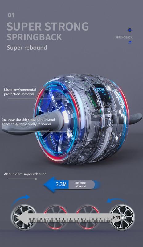 SND JFL-01修復腹肌健身輪