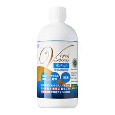Vires Seven 次氯酸消毒除臭噴霧500ml+補充裝500ml【優惠裝】