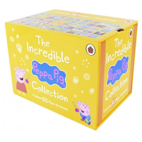 粉紅豬小妹 Peppa Pig 不可思議的Peppa Pig 1-50珍藏 [黃盒版]