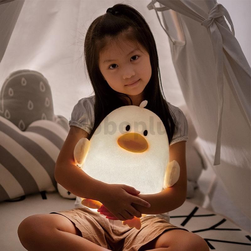M-Plus 小鴨子毛絨安撫夜燈