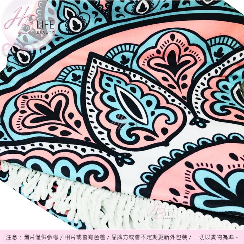 ORA 曼陀羅圓形地巾(打坐及沙灘兩用)