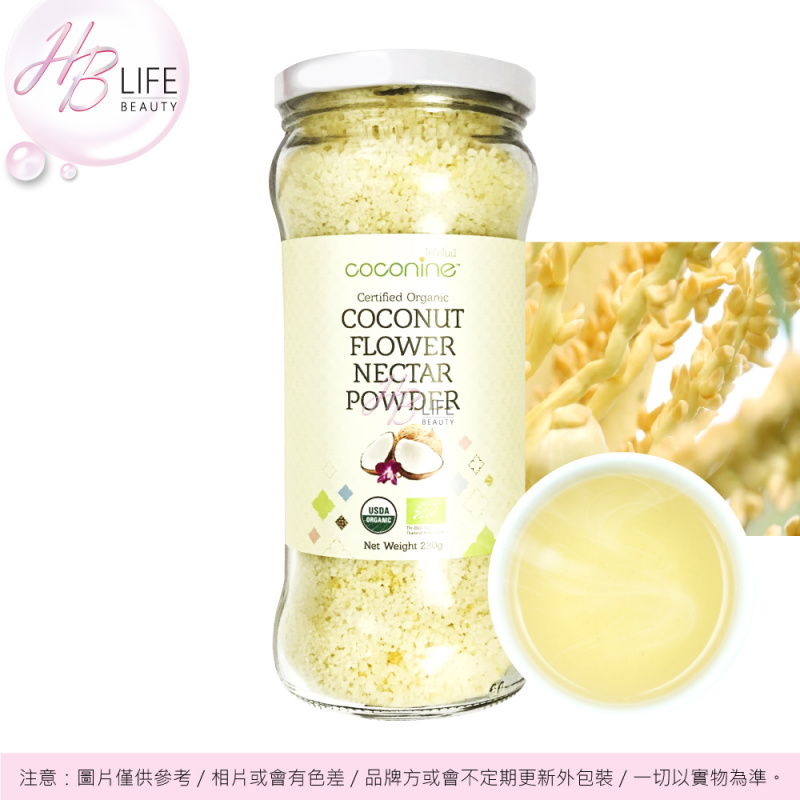 Coconine有機椰子花蜜糖 230克