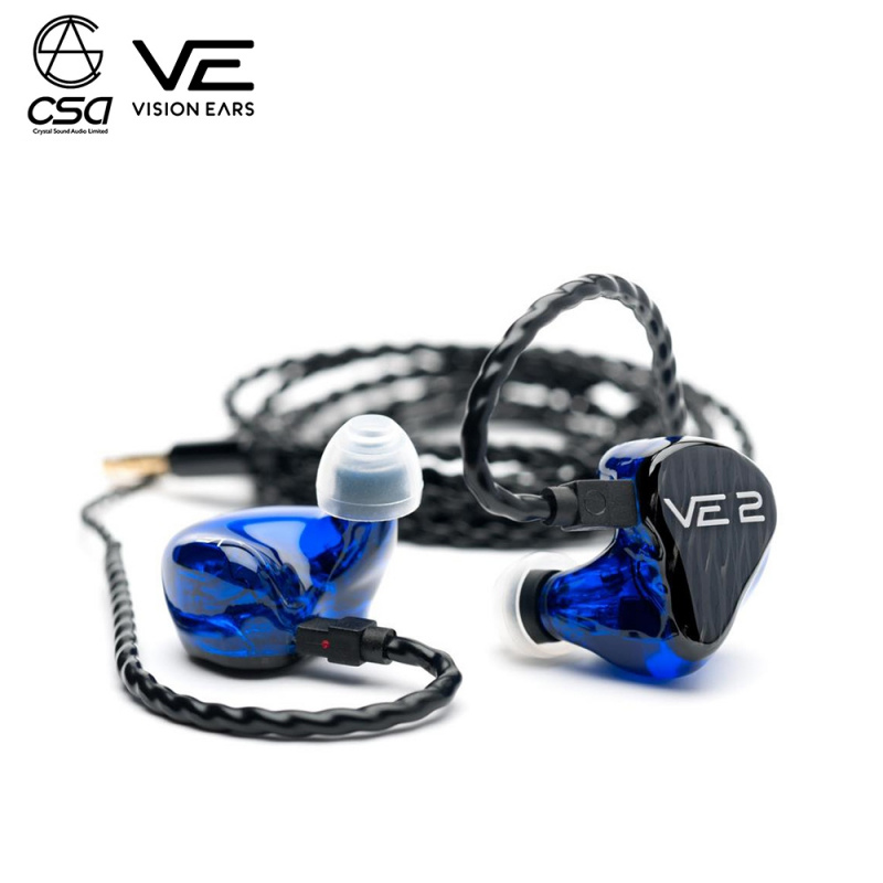 "Vision Ears VE2 ""Signature Design"" Universal Fit 入耳式耳機"