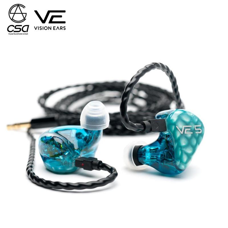 """Vision Ears VE5 """"Signature Design"""" Universal Fit 公模版"""