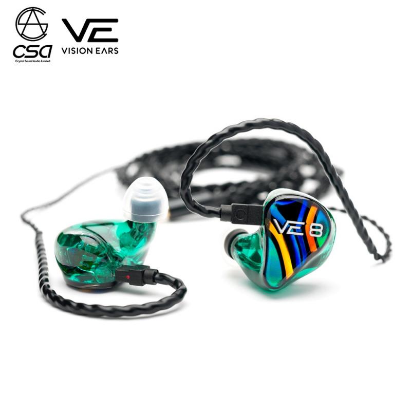 """Vision Ears VE8 """"Signature Design"""" Universal Fit 公模版"""