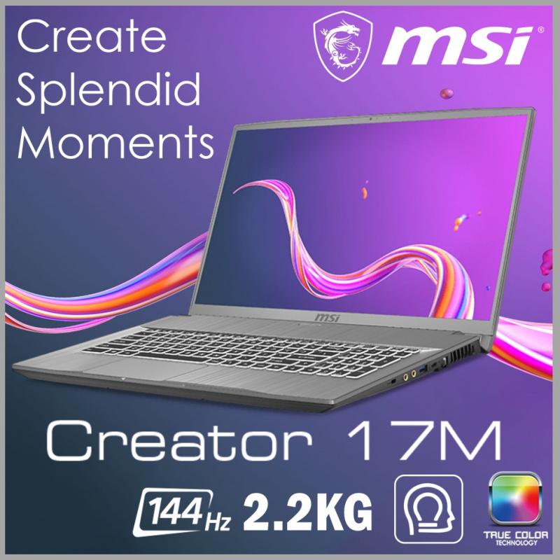 "MSI Creator 17M A10SE 17.3""專業創作者筆記型電腦( i7-10750H / RTX2060 / 144Hz )"