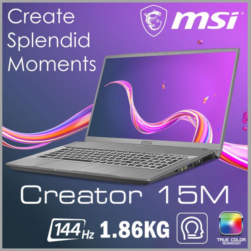 "MSI Creator 15M A10SE 15.6""專業創作者筆記型電腦( i7-10750H / RTX2060 / 144Hz )"
