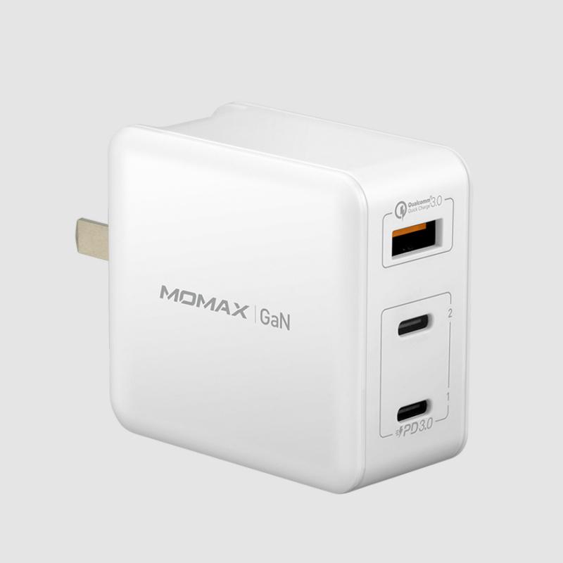 MOMAX ONE Plug GaN 65W 三輸出快速充電器