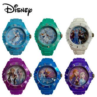 Disney 迪士尼冰雪奇緣矽膠兒童手錶 (全套六款 ~ 不設散賣)