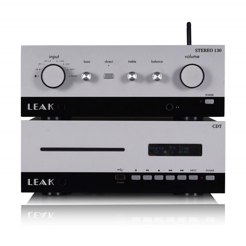 LEAK STEREO 130 + CDT 音響系統 (經典銀色)