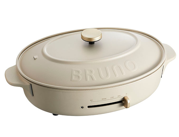 BRUNO 橢圓電熱鍋 Oval Hot Plate (BOE53)
