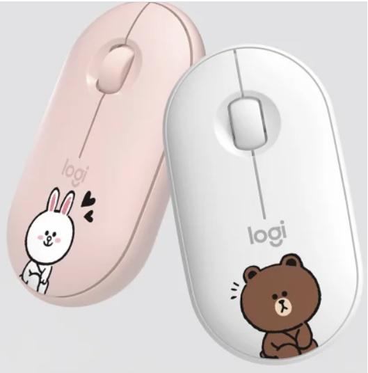 Logitech Line Friend Pebble M350 (Wireless + Bluetooth 2 in 1) 水貨