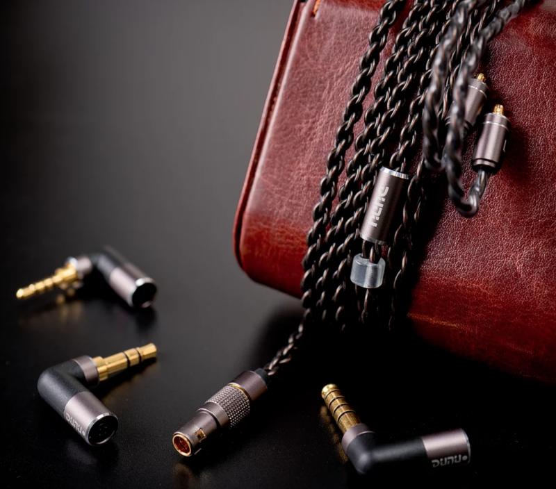 【陳列品DEMO優惠】DUNU Chord (弦) 單晶銅純銀混編升級線 (MMCX to 3.5mm)