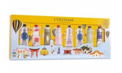 Loccitane 歐舒丹普羅旺斯遊歷世界潤手霜八件套裝 30mlx8
