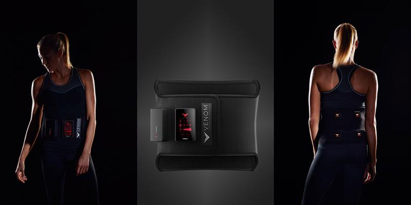 Hyperice - Venom Back 熱能震動器 – 腰帶款