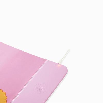 韓國KAKAO FRIENDS Qi無線充電鍵盤滑鼠墊 - 全家福