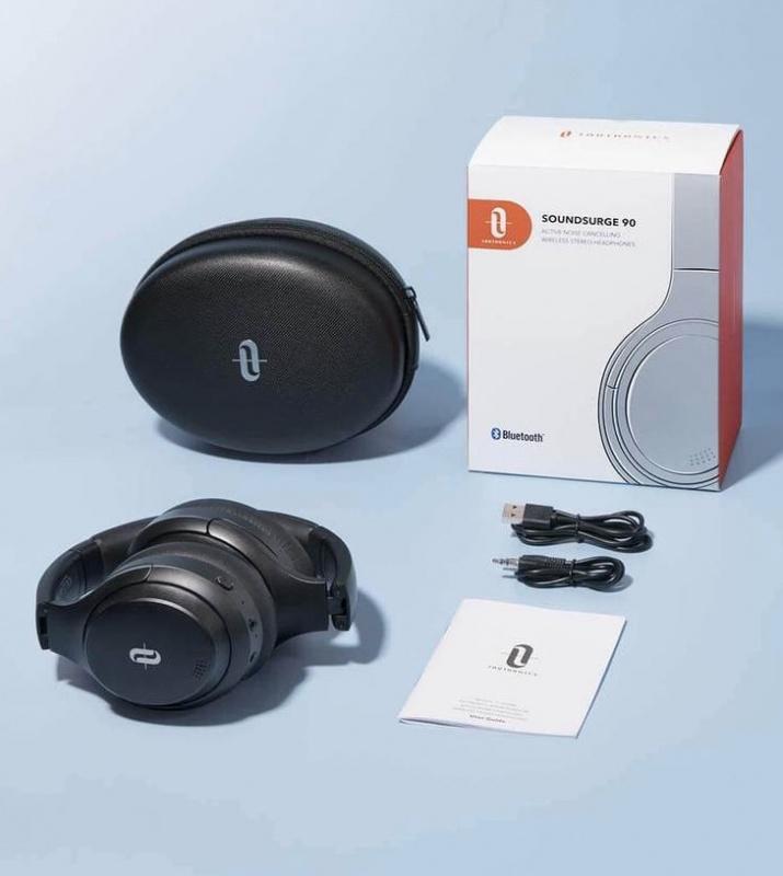 TaoTronics SoundSurge 90 Hybrid 主動降噪頭戴式耳機 (TT-BH090)