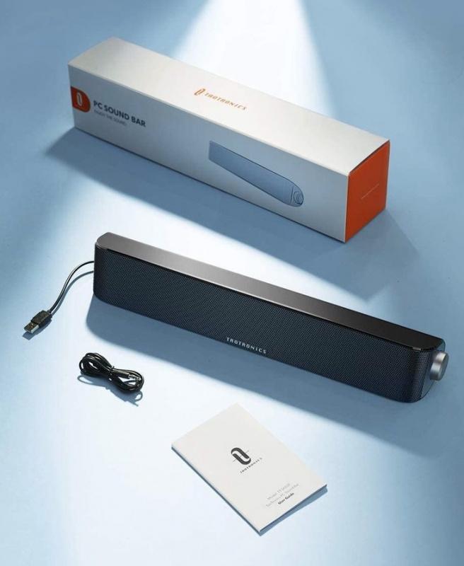 TaoTronics PC Sound bar 3.5mm/藍牙兩用喇叭[TT-SK028]