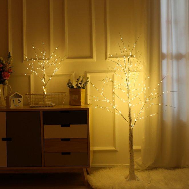 白樺樹家居夜燈[120cm]