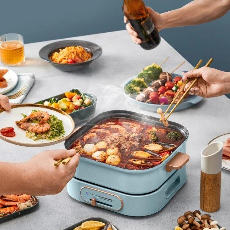 日本Yohome多功能分體料理鍋 + 小丸子