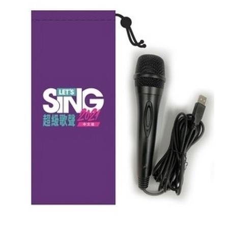 Let's Sing 超級歌聲2021 專用USB咪