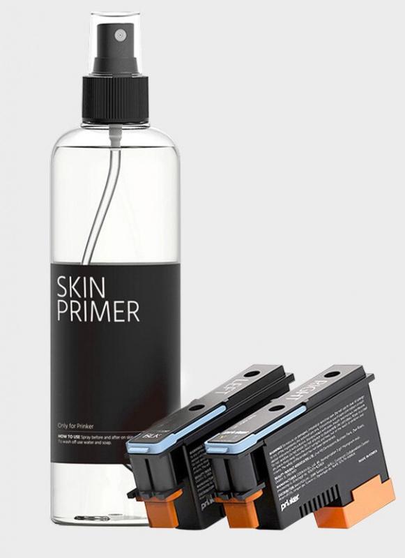 Prinker S 短暫紋身打印機-包括黑色墨和定形液(另配彩色墨盒和定形液)