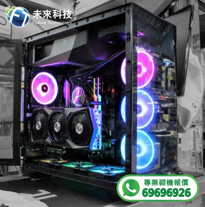【📞Whatsapp:69696926 專業組裝電腦 全網最平 💡最快四小時內送到🚀】Intel Core i9-10900K / ASUS ROG STRIX Z490-E GAMING主機板/ G.SKILL Trident Z Neo 32GB (2x16GB)高速記憶體/ Samsung 970 EVO Plus M.2 500G NVMe SSD