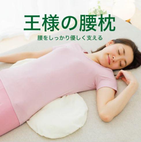 Beech 王様の腰枕 日本製王樣舒適腰枕 [3色]
