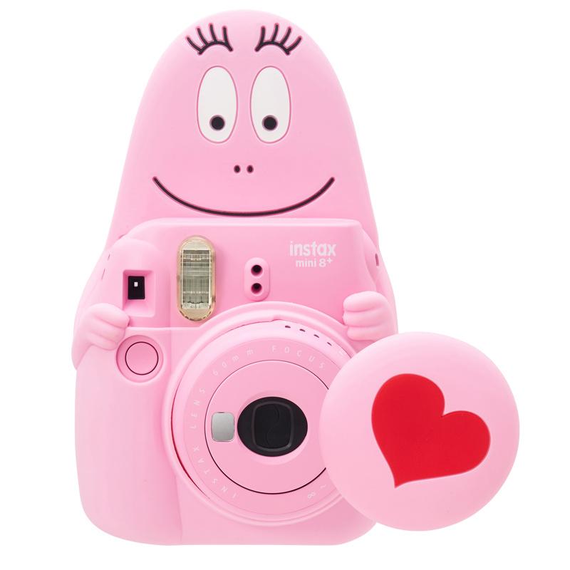 FUJIFILM 粉紅 Barbapapa Instax mini 8+ 即影即有相機